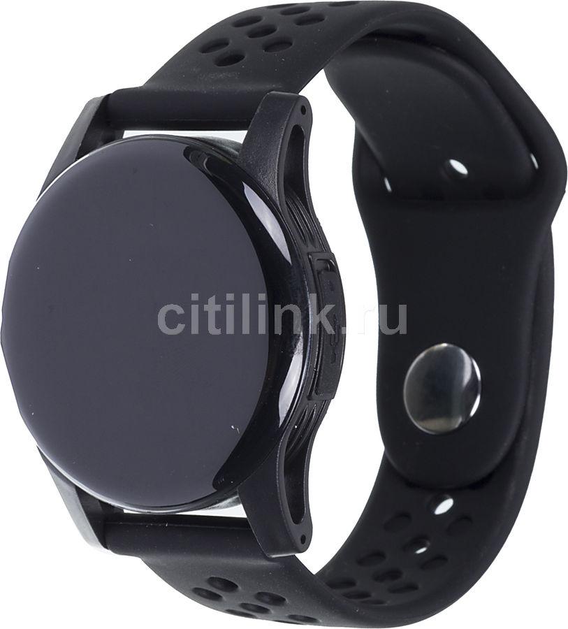"""Смарт-часы SMARTERRA Zen,  0.96"""",  черный / черный [smzb]"""