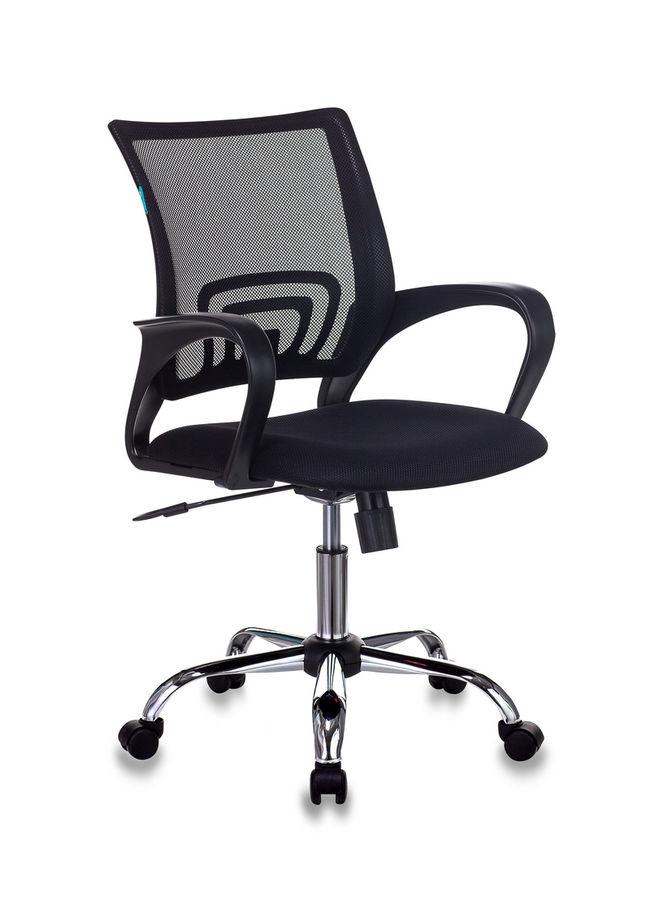 Кресло БЮРОКРАТ CH-695N, на колесиках, ткань, черный [ch-695n/sl/black]