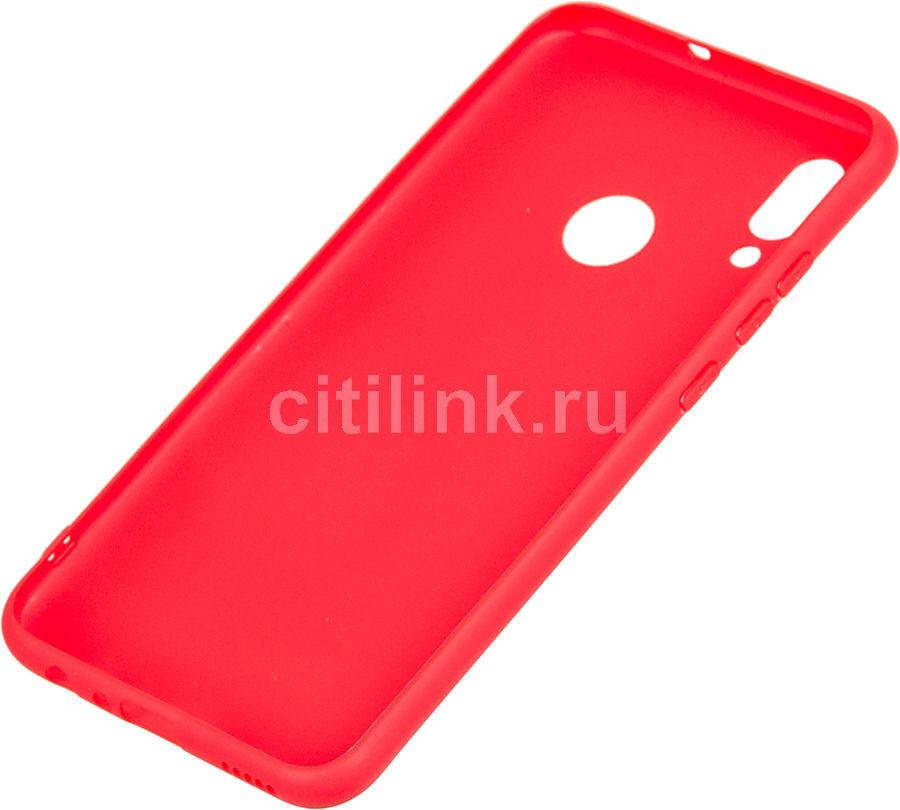 Чехол (клип-кейс) DF hwColorCase-02, для Huawei Honor 10 Lite, красный [df hwcolorcase-02 (red)]