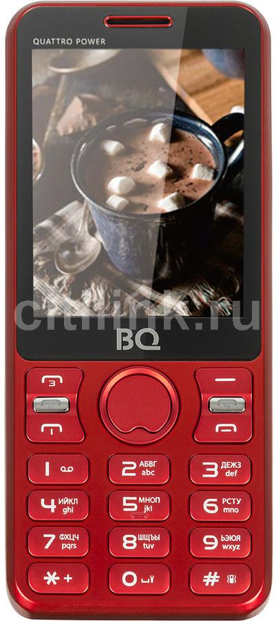 Мобильный телефон BQ Quattro Power 2812,  красный