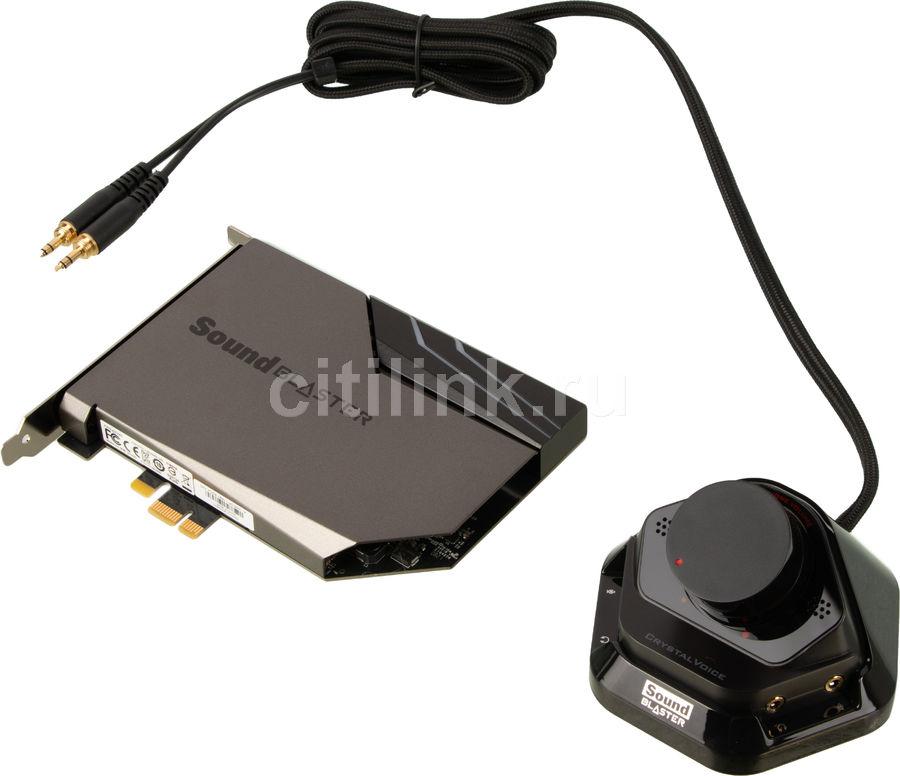 Звуковая карта PCI-E CREATIVE Sound Blaster AE-7,  5.1, Ret [70sb180000000]