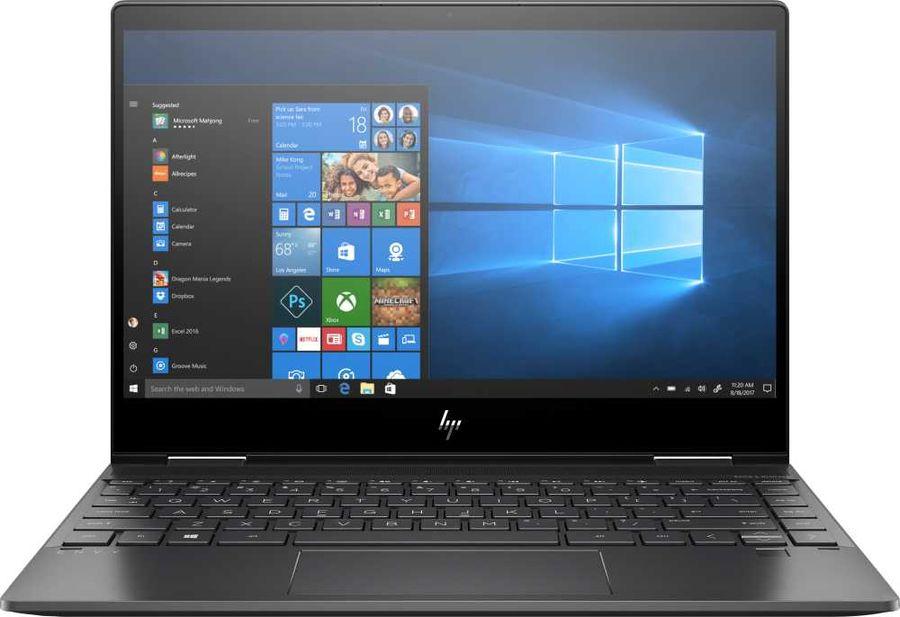"""Ноутбук-трансформер HP Envy x360 13-ar0004ur, 13.3"""",  IPS, AMD  Ryzen 7  3700U 2.3ГГц, 16Гб, 512Гб SSD,  AMD Radeon  Vega 10, Windows 10, 6PS56EA,  черный"""