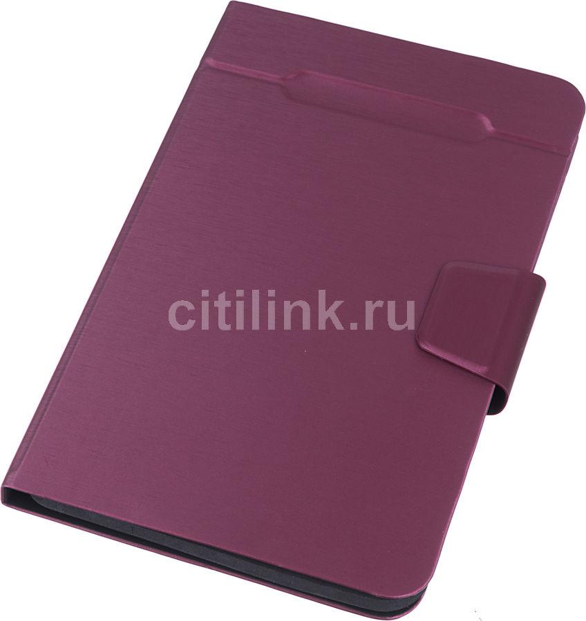 """Чехол для планшета DEPPA Wallet Fold,  красный, для  планшетов 8"""" [87033]"""