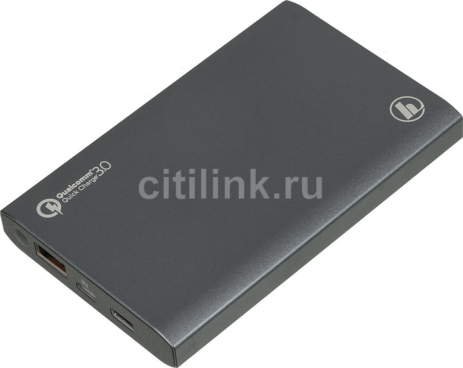 Внешний аккумулятор (Power Bank) HAMA PA12,  12000мAч,  серый [00183352]