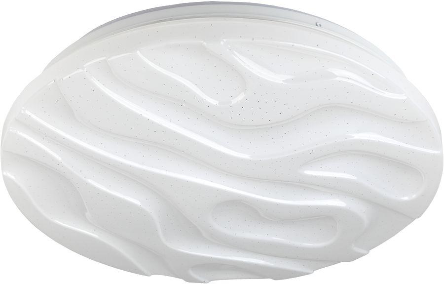 Светильник ЭРА SPB-6-30-RC Wave навесной,  30Вт,  белый [б0034966]