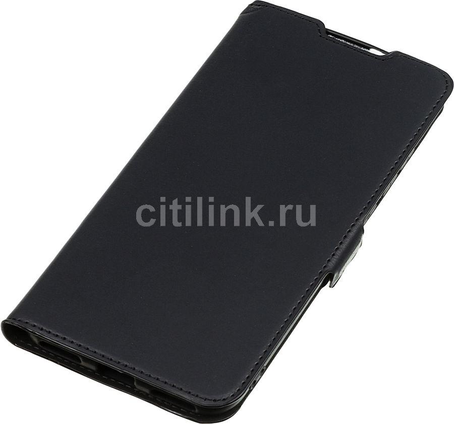 Чехол (флип-кейс) DF xiFlip-49, для Xiaomi Mi A3/CC9E, черный [df xiflip-49 (black)]