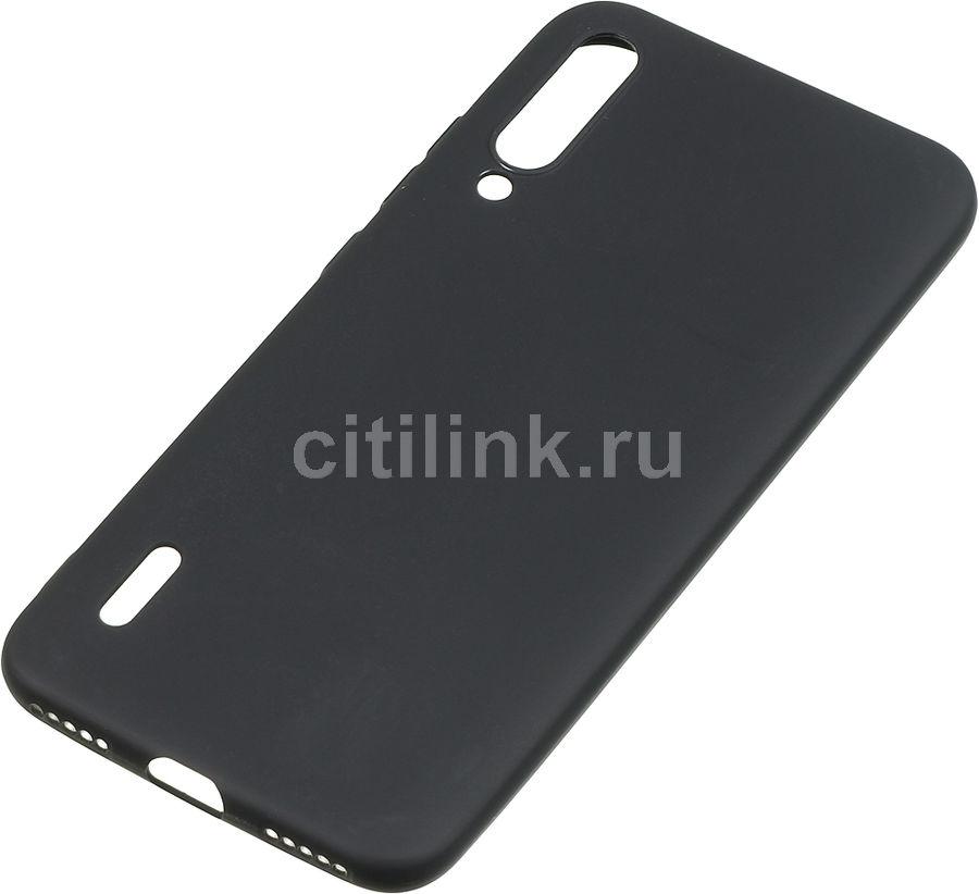 Чехол (клип-кейс) BORASCO для Xiaomi Mi A3, черный (матовый) [37353]