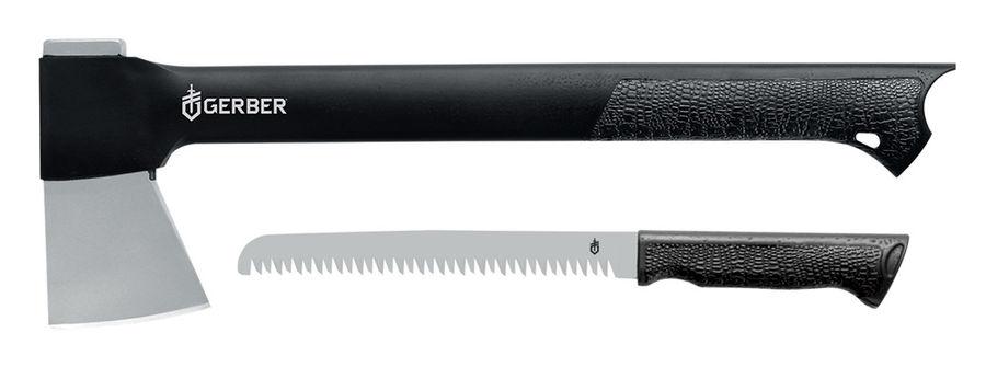 Набор инструментов Gerber Gator Axe Combo II (1014061) черный компл.:топор/пила блистер