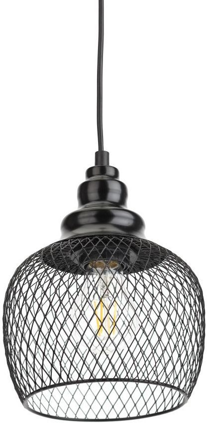 Светильник ЭРА PL7 BK навесной,  60Вт,  черный [б0037454]