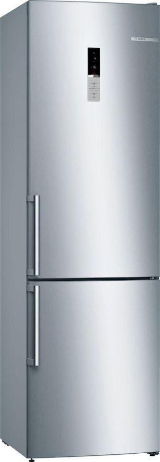 Холодильник BOSCH KGE39AL3OR,  двухкамерный, нержавеющая сталь