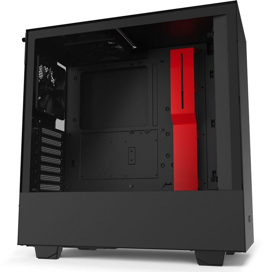 Купить Корпус ATX NZXT H510 CA-H510B-BR,  черный и красный в интернет-магазине СИТИЛИНК, цена на Корпус ATX NZXT H510 CA-H510B-BR,  черный и красный (1167972) - Волгоград