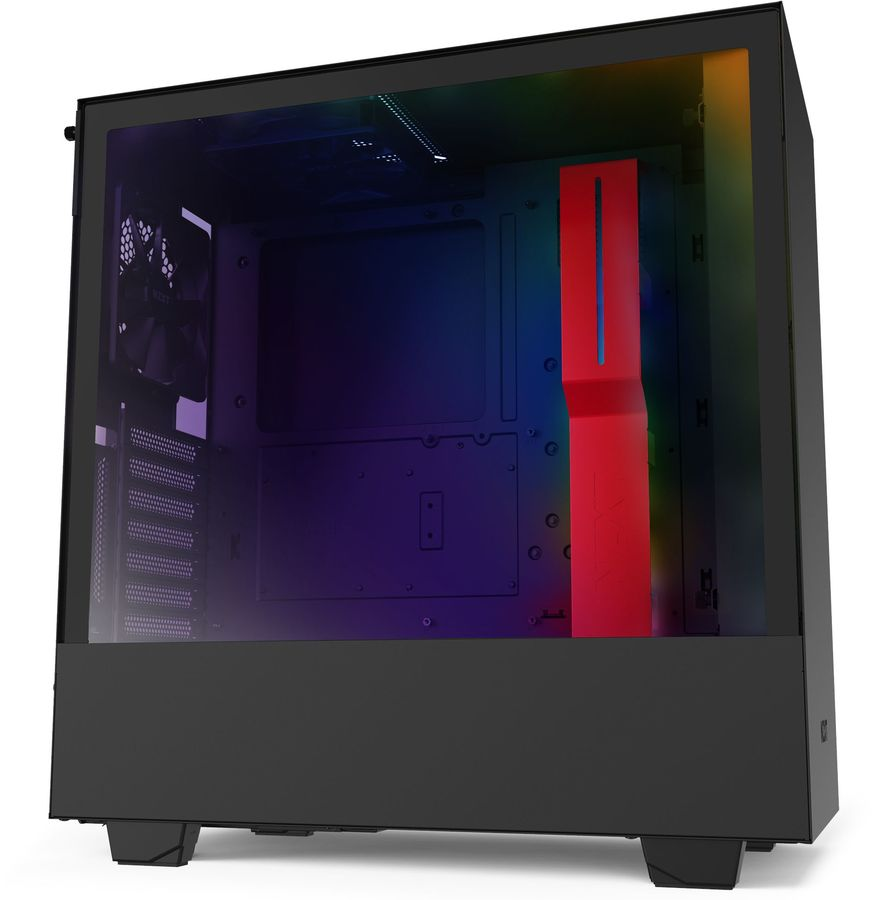 Купить Корпус ATX NZXT H510 CA-H510i-BR,  черный и красный в интернет-магазине СИТИЛИНК, цена на Корпус ATX NZXT H510 CA-H510i-BR,  черный и красный (1167980) - Волгоград