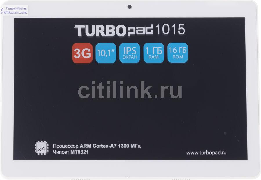 Планшет TURBO TurboPad 1015,  1GB, 16GB, 3G,  Android 8.1 серебристый [рт00020516]