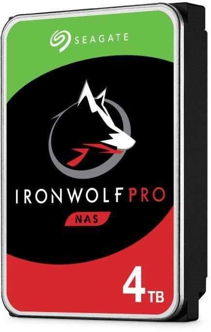 """Жесткий диск SEAGATE Ironwolf Pro ST4000NE001,  4Тб,  HDD,  SATA III,  3.5"""""""
