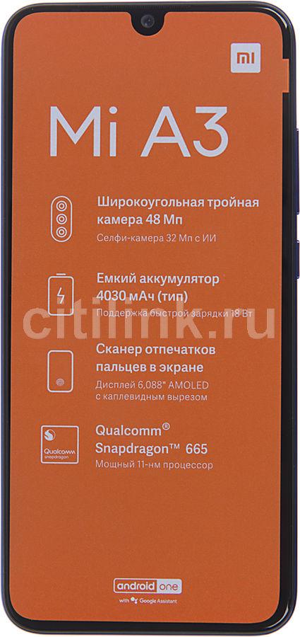 Смартфон XIAOMI Mi A3 128Gb,  синий