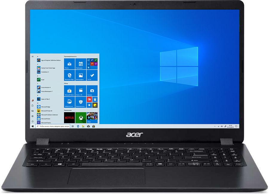 "Ноутбук ACER Aspire 3 A315-42G-R19T, 15.6"",  AMD  Ryzen 3  3200U 2.6ГГц, 8Гб, 512Гб SSD,  AMD Radeon  540X - 2048 Мб, Windows 10, NX.HF8ER.02W,  черный"