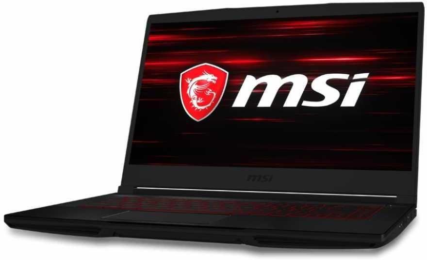 "Ноутбук MSI GF63 Thin 9RCX-696RU, 15.6"",  IPS, Intel  Core i5  9300H 2.4ГГц, 8Гб, 512Гб SSD,  nVidia GeForce  GTX 1050 Ti - 4096 Мб, Windows 10, 9S7-16R312-696,  черный"