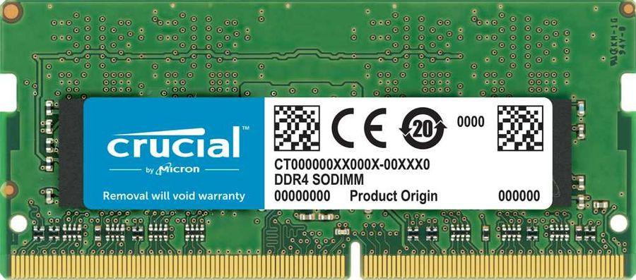 Модуль памяти CRUCIAL CT8G4S266M DDR4 -  8Гб 2666, SO-DIMM,  Ret