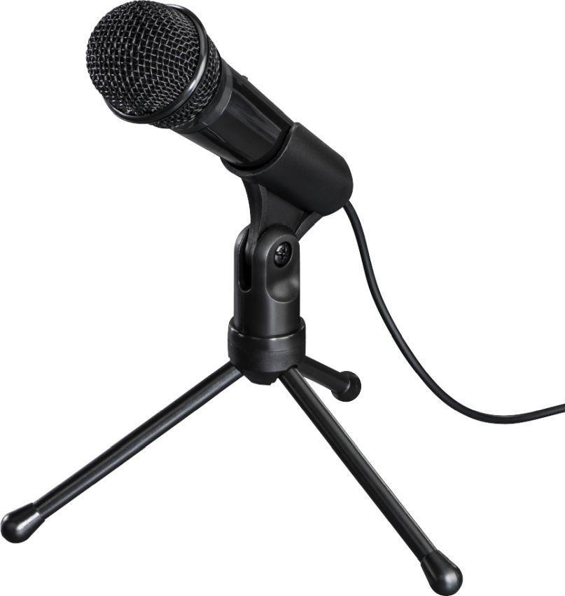 Микрофон HAMA MIC-P35 Allround,  черный [00139905]