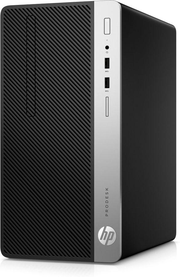 Компьютер  HP ProDesk 400 G6,  Intel  Core i7  9700,  DDR4 8Гб, 256Гб(SSD),  Intel UHD Graphics 630,  DVD-RW,  Windows 10 Professional,  черный [7el83ea]
