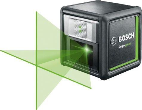 Лазерный нивелир BOSCH Quigo Green + MM2 [0603663c00]