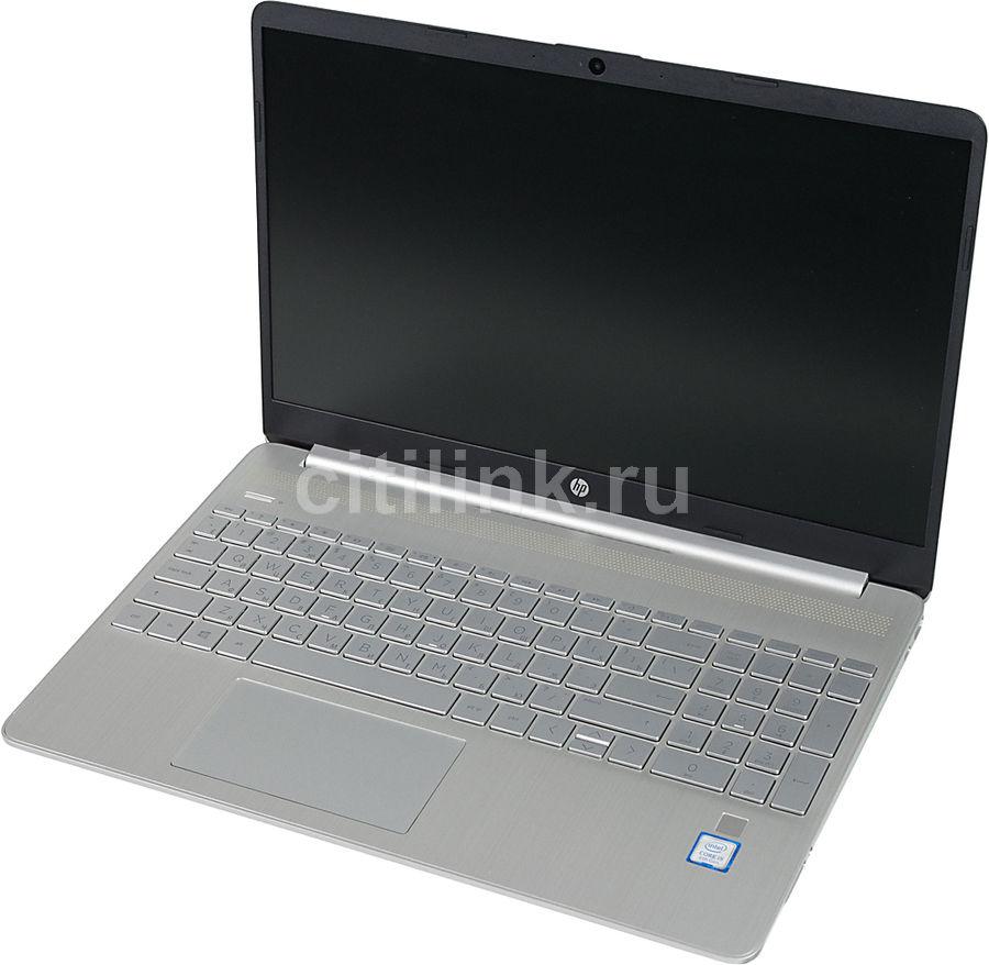 Ноутбук HP 15s-fq0029ur, 7PW84EA,  серебристый