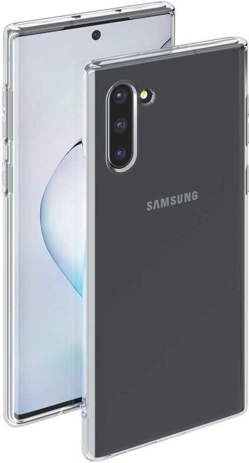 Чехол (клип-кейс) DEPPA Gel Case, для Samsung Galaxy Note 10, прозрачный [87328]