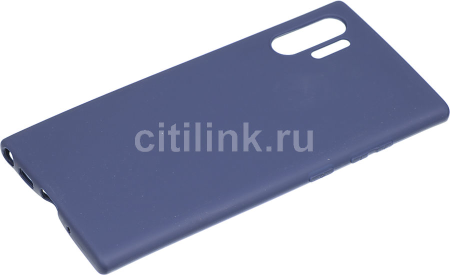 Чехол (клип-кейс) DEPPA Gel Case Color, для Samsung Galaxy Note 10+, синий [87331]