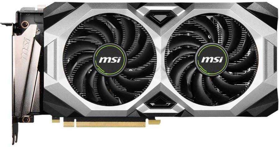 Видеокарта MSI nVidia  GeForce RTX 2080SUPER ,  RTX 2080 SUPER VENTUS XS OC,  8Гб, GDDR6, OC,  Ret