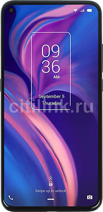 Смартфон TCL Plex 128Gb,  T780H,  черный обсидиан