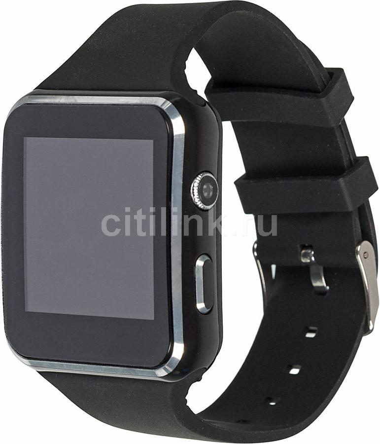 """Смарт-часы SMARTERRA SmartLife NEO,  1.54"""",  черный / черный [sm-slneobl]"""