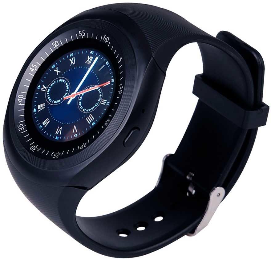 """Смарт-часы SMARTERRA SmartLife R,  1.54"""",  черный / черный [sm-slrndbl]"""