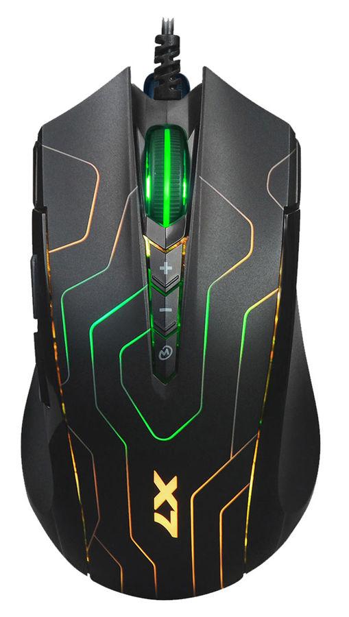 Мышь A4 X89 Maze, игровая, оптическая, проводная, USB, черный [x89 (maze)]