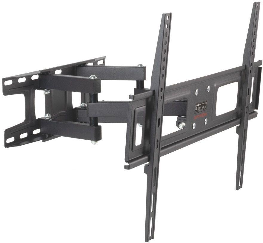 """Кронштейн для телевизора Arm Media LCD-418 черный 32""""-65"""" макс.35кг настенный поворотно-выдвижной и"""
