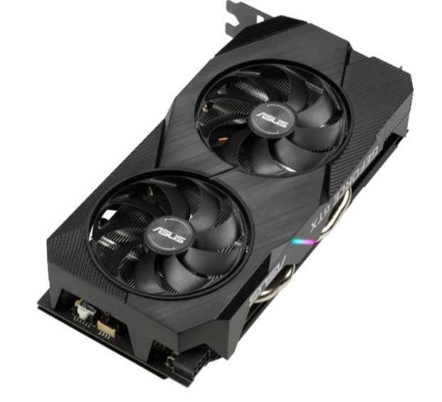 Видеокарта ASUS nVidia  GeForce GTX 1660TI ,  DUAL-GTX1660TI-A6G-EVO,  6Гб, GDDR6, Ret