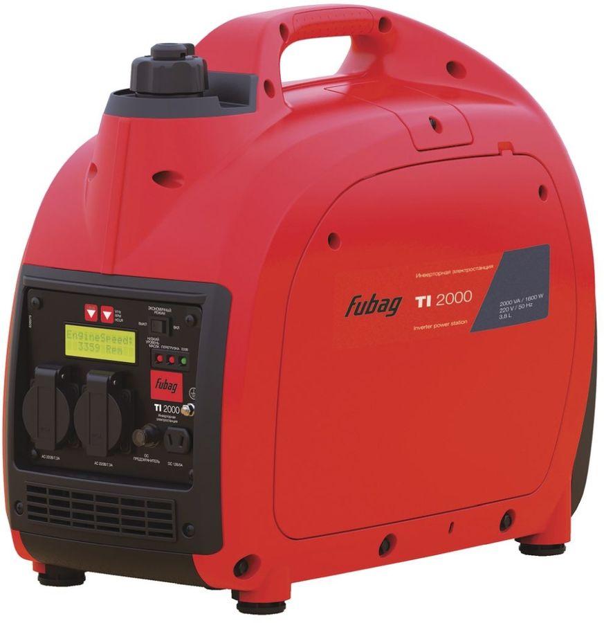 Бензиновый генератор FUBAG TI 2000,  220 В,  2кВт [838979]