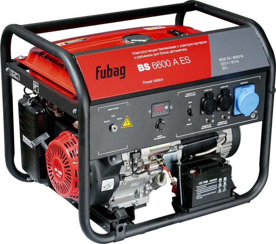 Бензиновый генератор FUBAG BS 6600 A ES,  230 [838798]