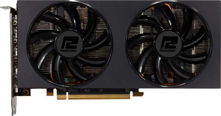 Видеокарта POWERCOLOR AMD  Radeon RX 5700XT ,  AXRX 5700XT 8GBD6-3DH,  8Гб, GDDR6, Ret