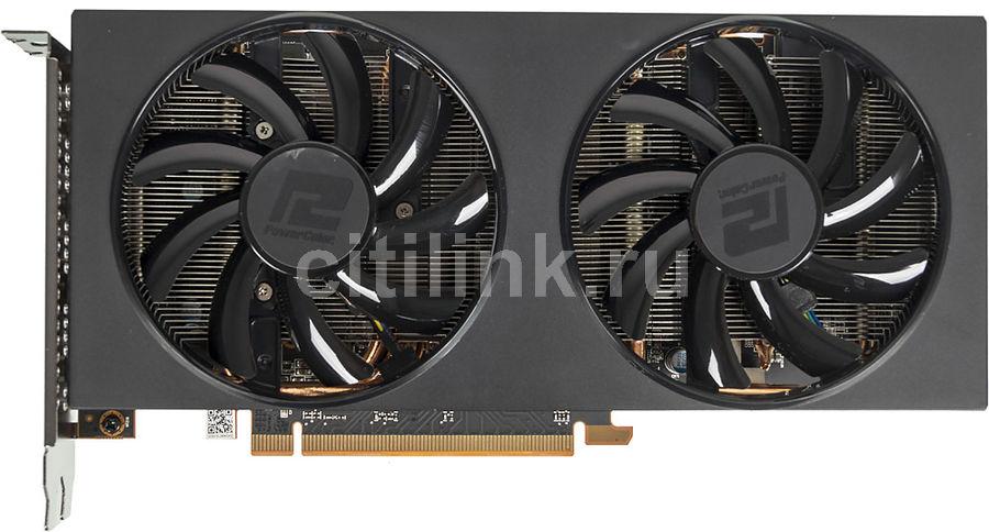 Видеокарта POWERCOLOR AMD  Radeon RX 5700 ,  AXRX 5700 8GBD6-3DH/OC