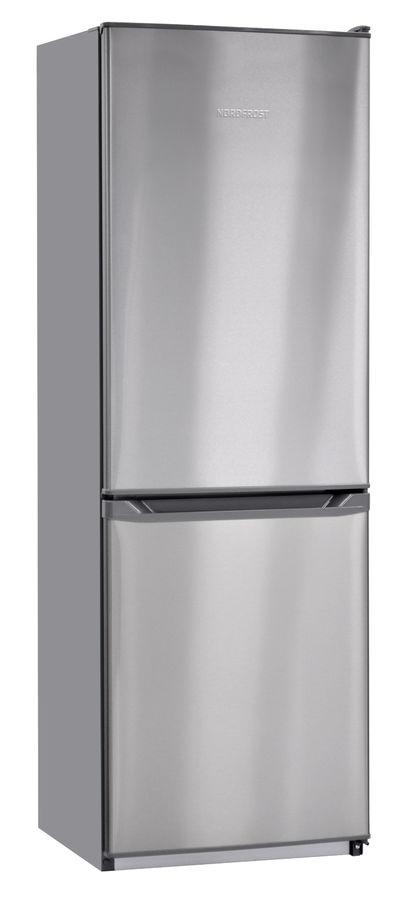 Холодильник NORDFROST NRB 139 932,  двухкамерный, нержавеющая сталь [00000256599]