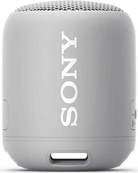 Портативная колонка SONY SRS-XB12,  10Вт, серый  [srsxb12h.ru2]