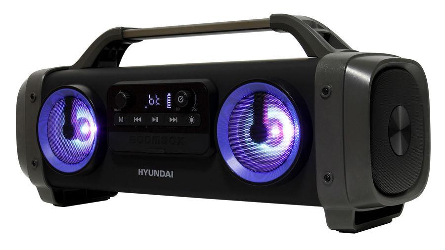 Аудиомагнитола HYUNDAI H-PCD400,  черный