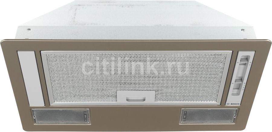 Вытяжка встраиваемая Bosch DLN53AA50 серебристый управление: ползунковое (1 мотор)