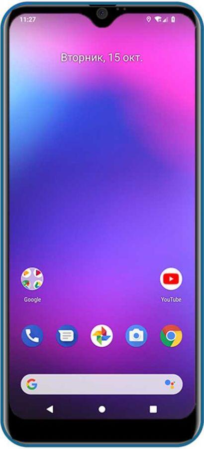 Смартфон DIGMA CITI 609 32Gb,  синий
