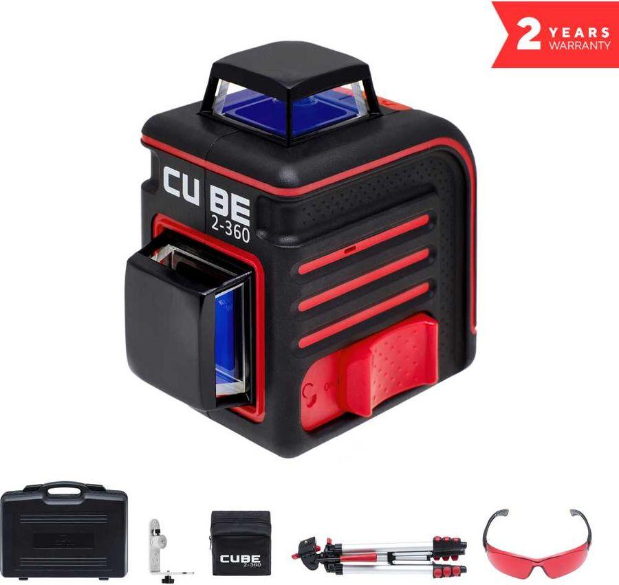 Лазерный нивелир ADA Cube 2-360 Ultimate Edition [а00450]