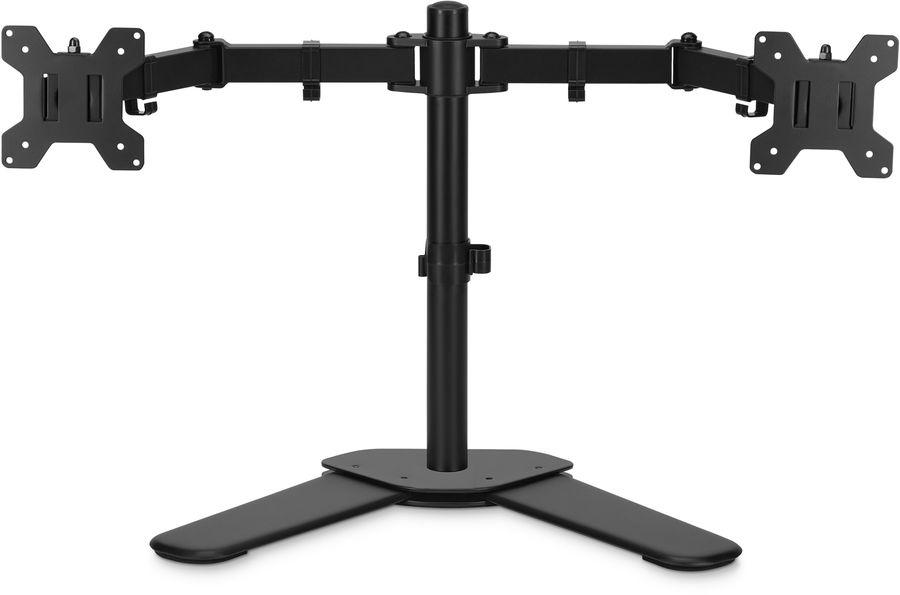 """Кронштейн для мониторов ЖК Buro M042 черный 17""""-27"""" макс.8кг крепление к столешнице поворот и наклон"""