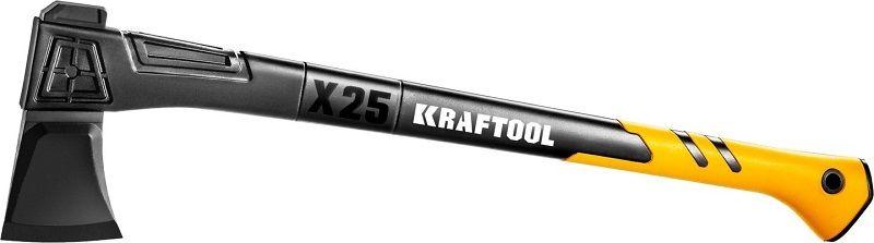 Топор Kraftool Х25 большой черный/желтый (20660-25)