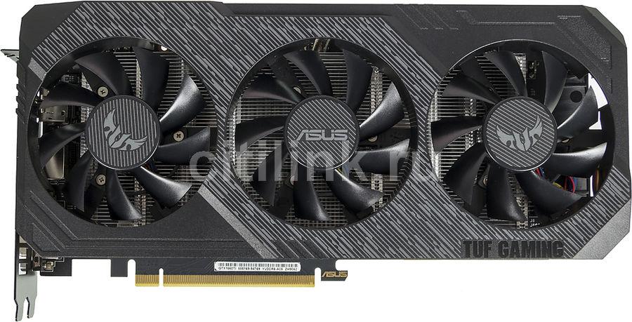 Видеокарта ASUS nVidia  GeForce GTX 1660TI ,  TUF3-GTX1660TI-O6G-GAMING,  6Гб, GDDR6, OC,  Ret