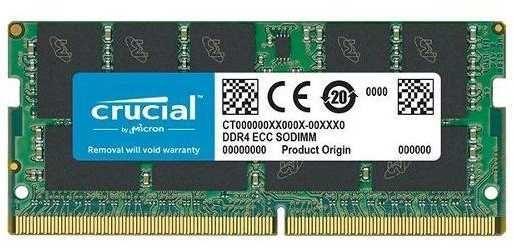 Модуль памяти CRUCIAL CT16G4TFD8266 DDR4 -  16Гб 2666, SO-DIMM,  Ret
