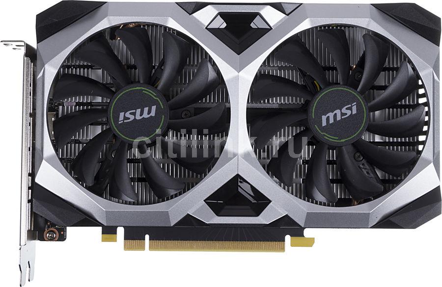 Видеокарта MSI nVidia  GeForce GTX 1660 ,  GTX 1660 VENTUS XS 6G OCV1,  6Гб, GDDR5, OC,  Ret